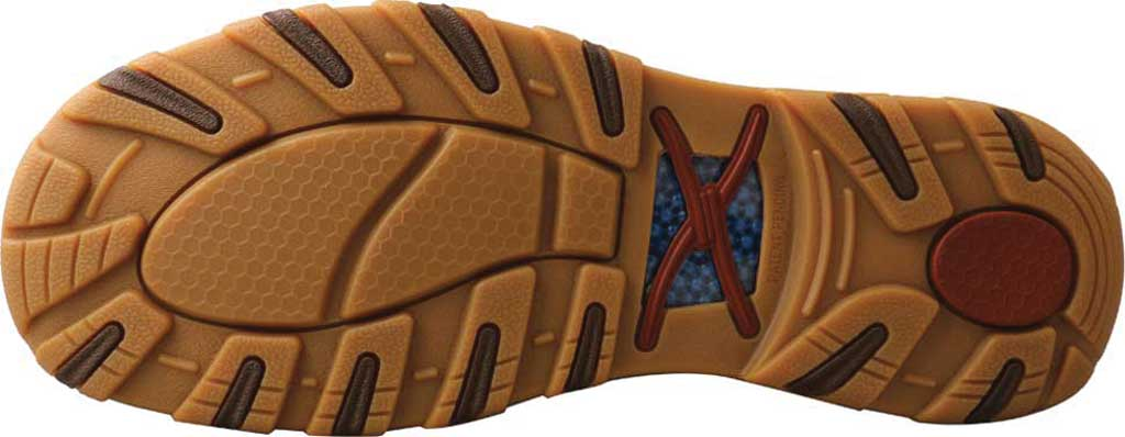 Men's Twisted X MXC0009 Slip On Driving Moc, Bomber/Brindle Full Grain Leather, large, image 5