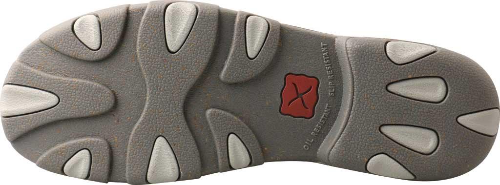 Men's Twisted X MDM0086 Chukka Driving Moc, Dark Grey/Grey Hybrid Performance Leather, large, image 3