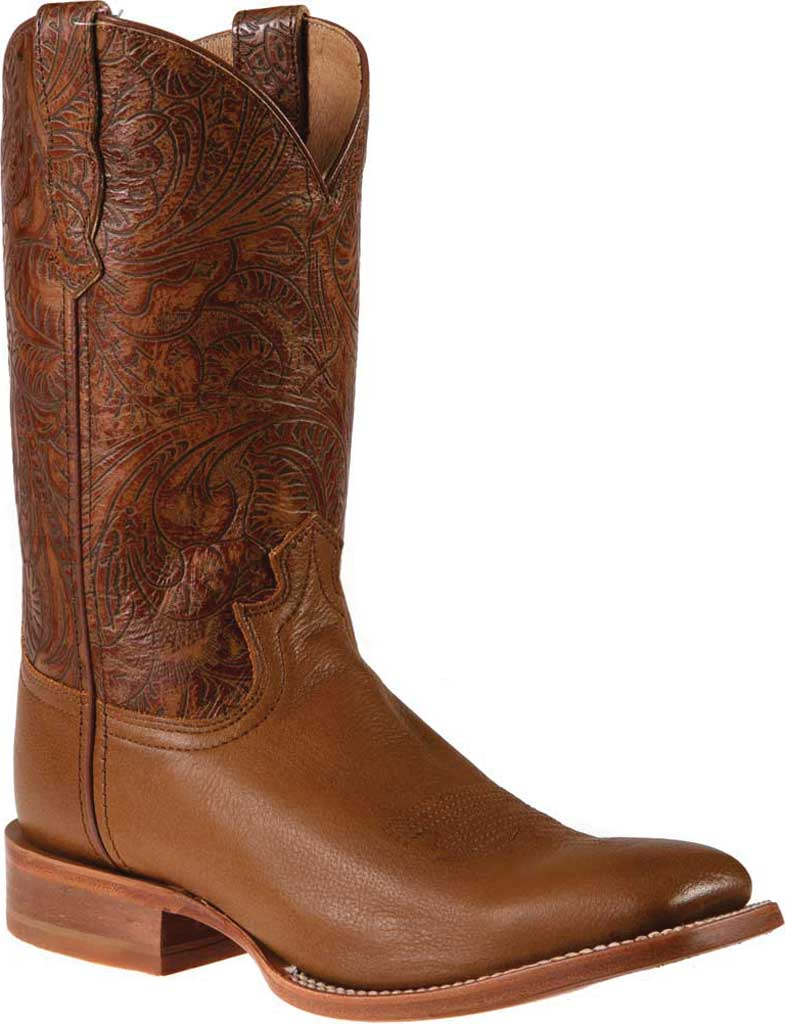 """Women's Twisted X WRAL015 12"""" Rancher Cowgirl Boot, Woodsmoke/Coffee Full Grain Leather, large, image 1"""