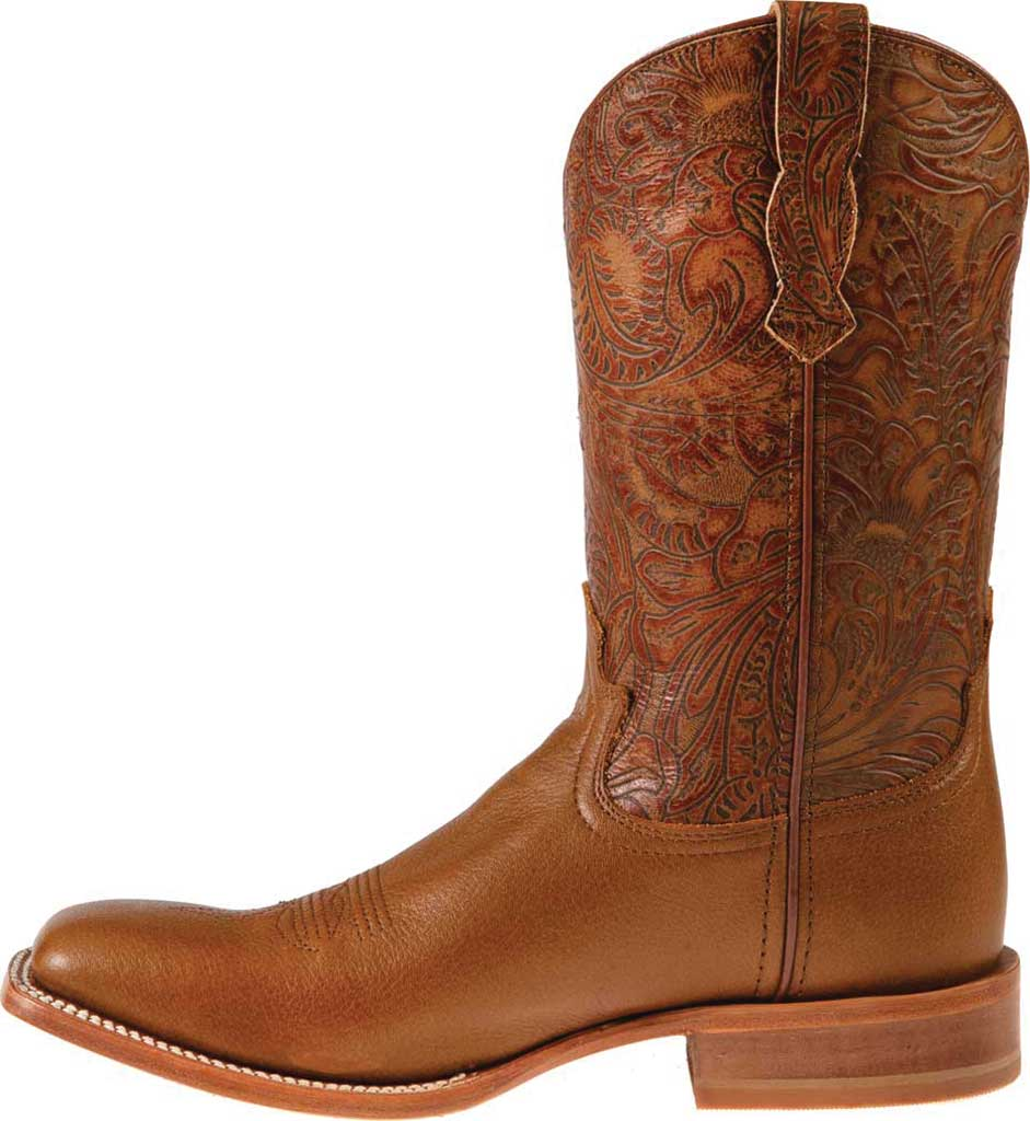 """Women's Twisted X WRAL015 12"""" Rancher Cowgirl Boot, Woodsmoke/Coffee Full Grain Leather, large, image 3"""