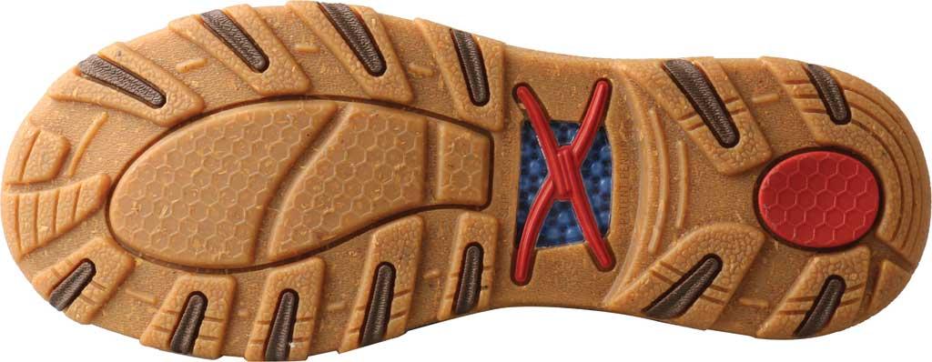 Women's Twisted X WXC0011 Slip On Driving Moc, Bomber/Brindle Full Grain Leather, large, image 5