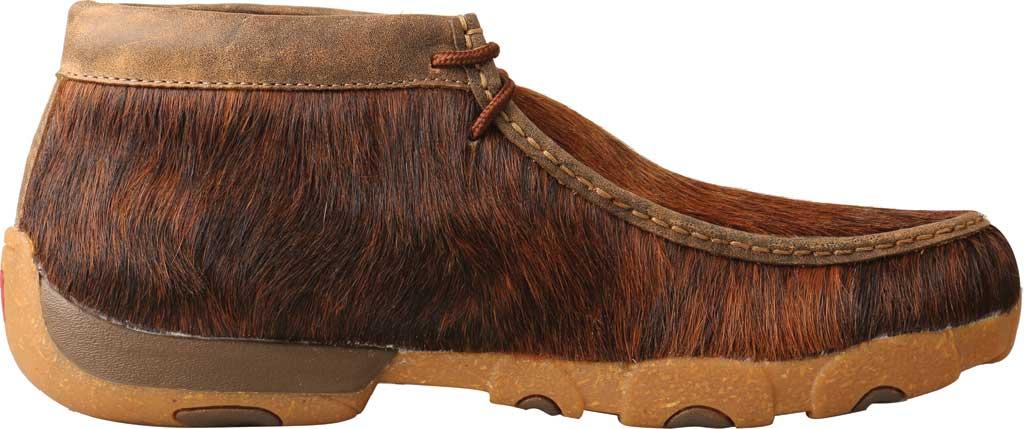 Men's Twisted X MDM0084 Chukka Driving Moc, Brindle Full Grain Leather, large, image 2