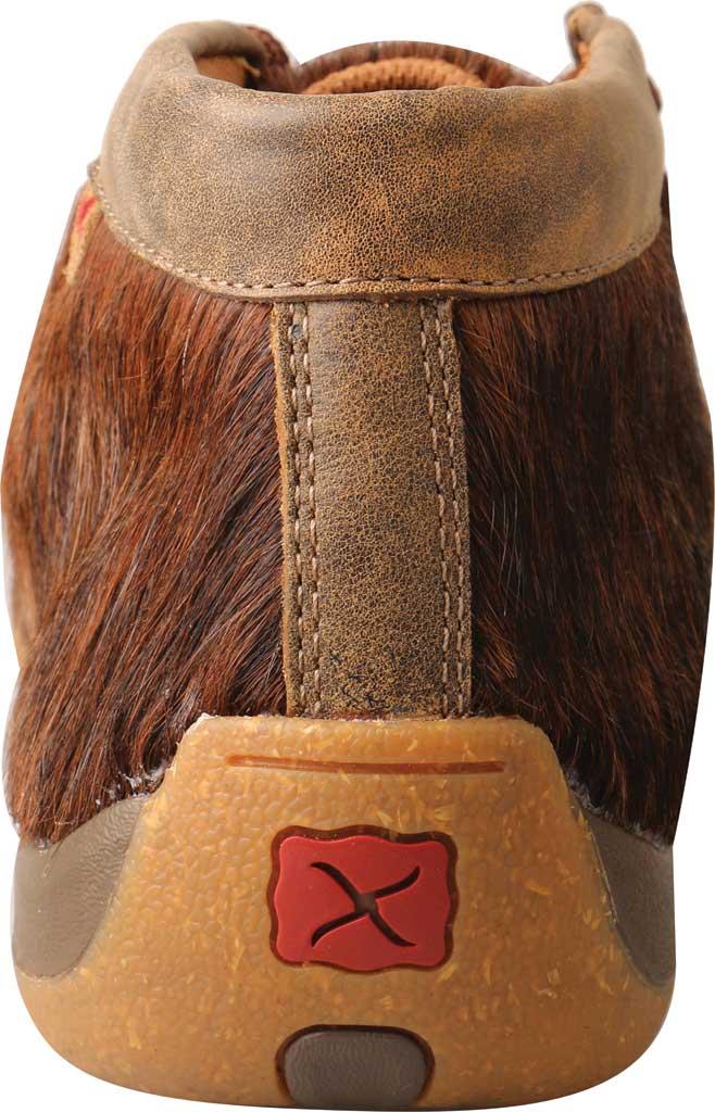 Men's Twisted X MDM0084 Chukka Driving Moc, Brindle Full Grain Leather, large, image 4