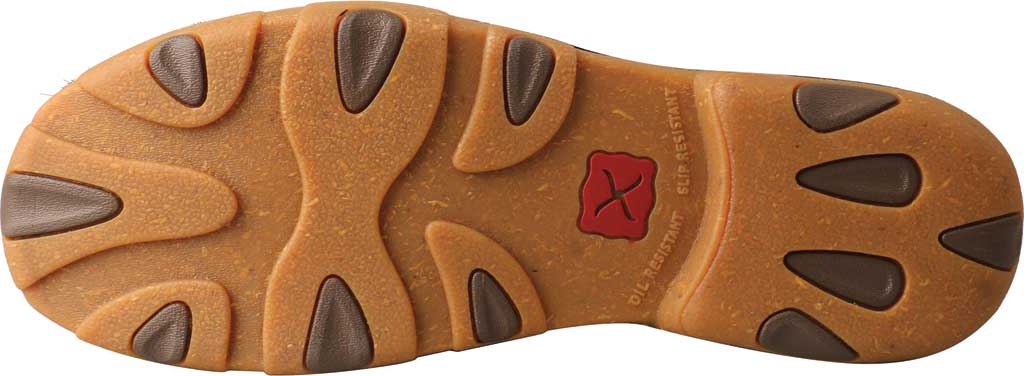 Men's Twisted X MDM0084 Chukka Driving Moc, Brindle Full Grain Leather, large, image 5