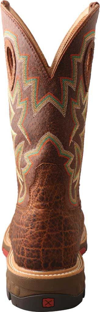 "Men's Twisted X MXB0004 12"" Western Work Boot, Tan/Tan Full Grain Leather, large, image 4"
