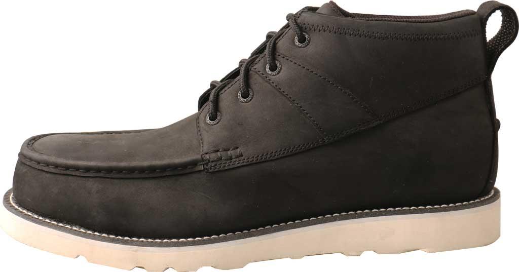 "Men's Twisted X MCAA002 4.5"" Alloy Toe Work Boot, Black/Black Full Grain Leather, large, image 3"