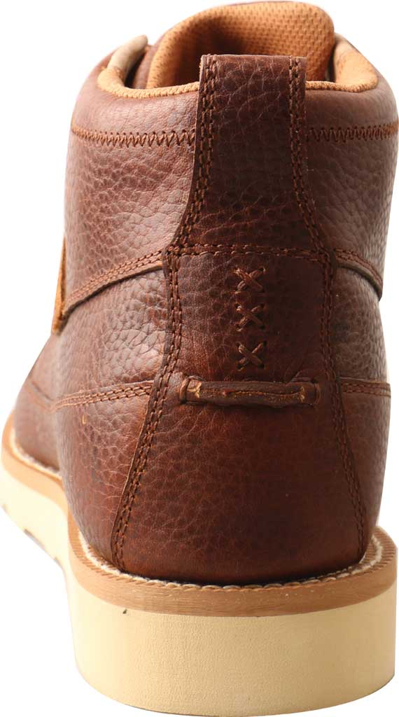 "Men's Twisted X MCAA001 4"" Alloy Toe Work Boot, Cinnamon/Cinnamon Full Grain Leather, large, image 3"