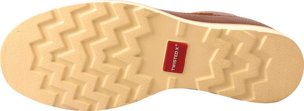 "Men's Twisted X MCAA001 4"" Alloy Toe Work Boot, Cinnamon/Cinnamon Full Grain Leather, large, image 4"