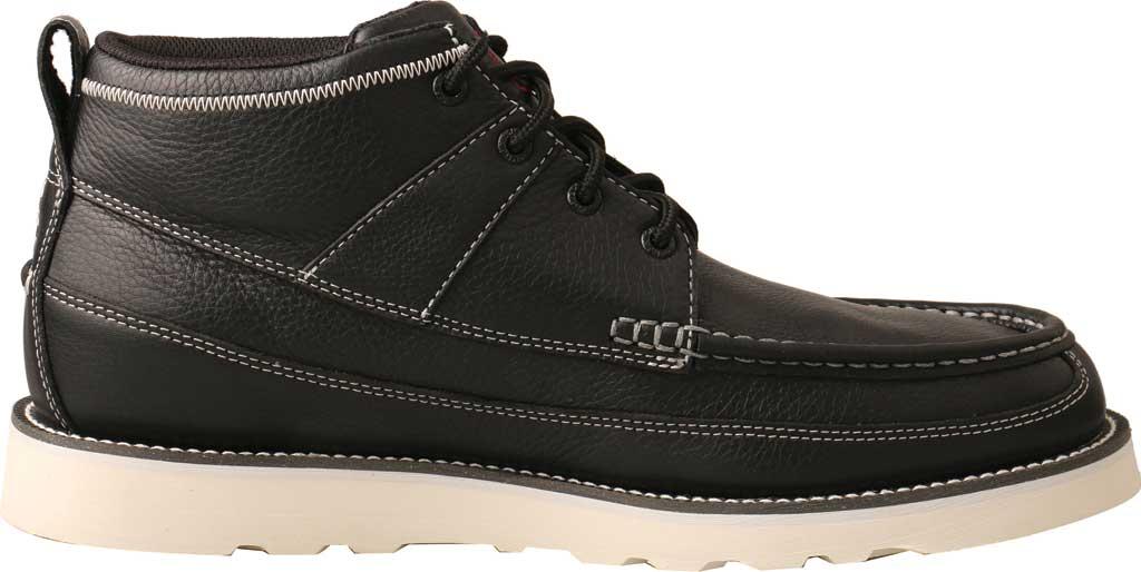 "Men's Twisted X MCA0039 4"" Moc Toe Boot, Black Full Grain Leather, large, image 2"