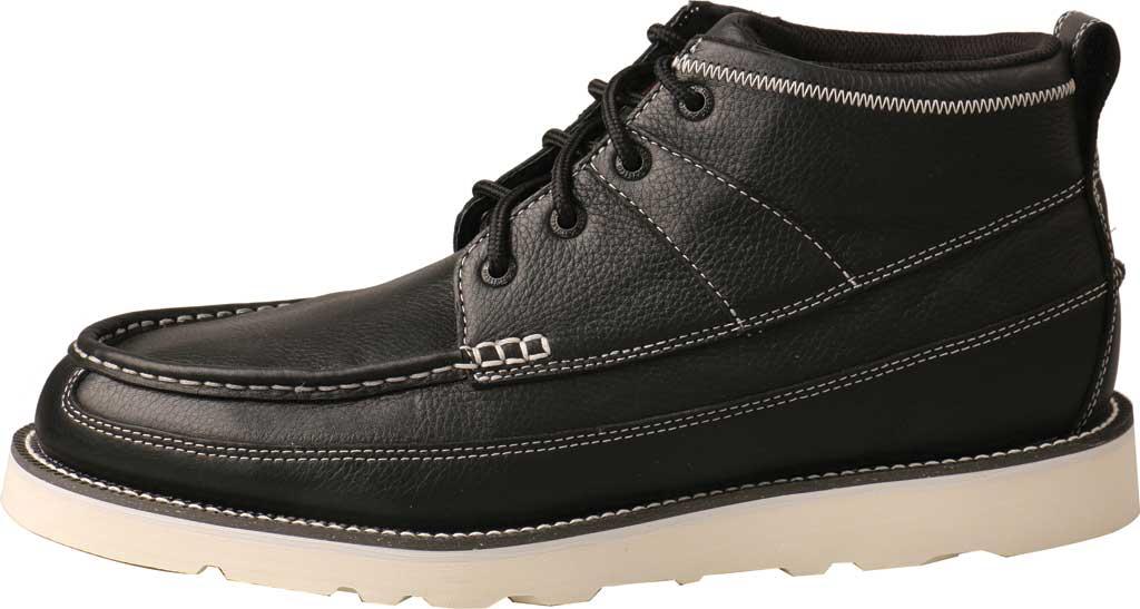 "Men's Twisted X MCA0039 4"" Moc Toe Boot, Black Full Grain Leather, large, image 3"