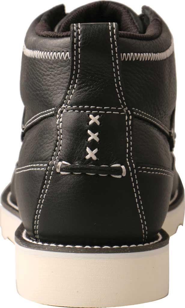 "Men's Twisted X MCA0039 4"" Moc Toe Boot, Black Full Grain Leather, large, image 4"
