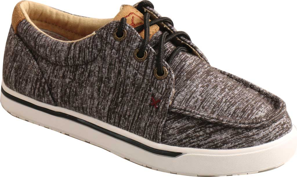 Children's Twisted X YCA0004 Kicks Moc Sneaker, Dark Grey Merino Wool, large, image 1