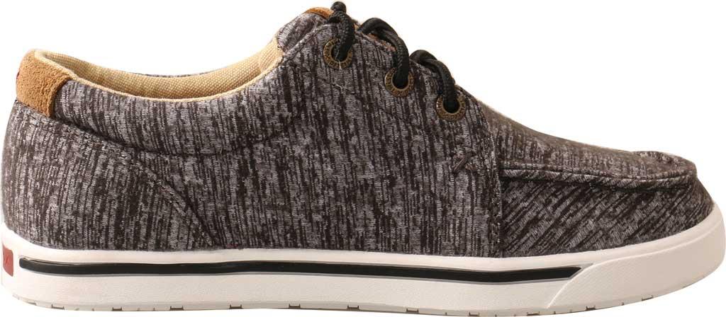 Children's Twisted X YCA0004 Kicks Moc Sneaker, Dark Grey Merino Wool, large, image 2