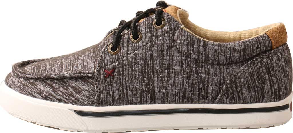 Children's Twisted X YCA0004 Kicks Moc Sneaker, Dark Grey Merino Wool, large, image 3