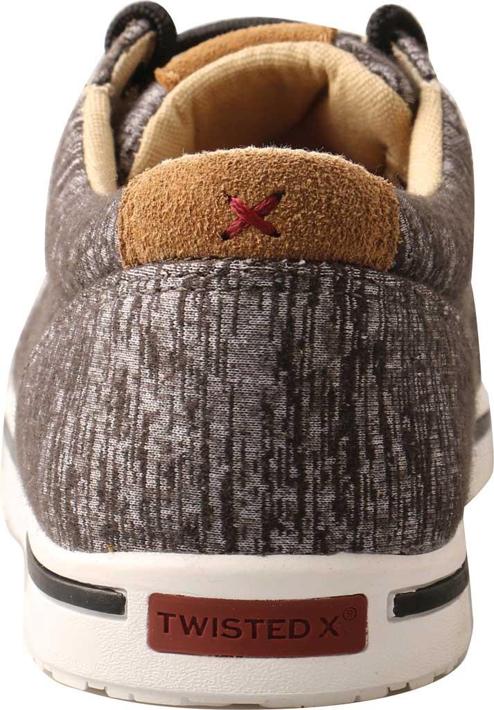 Children's Twisted X YCA0004 Kicks Moc Sneaker, Dark Grey Merino Wool, large, image 4