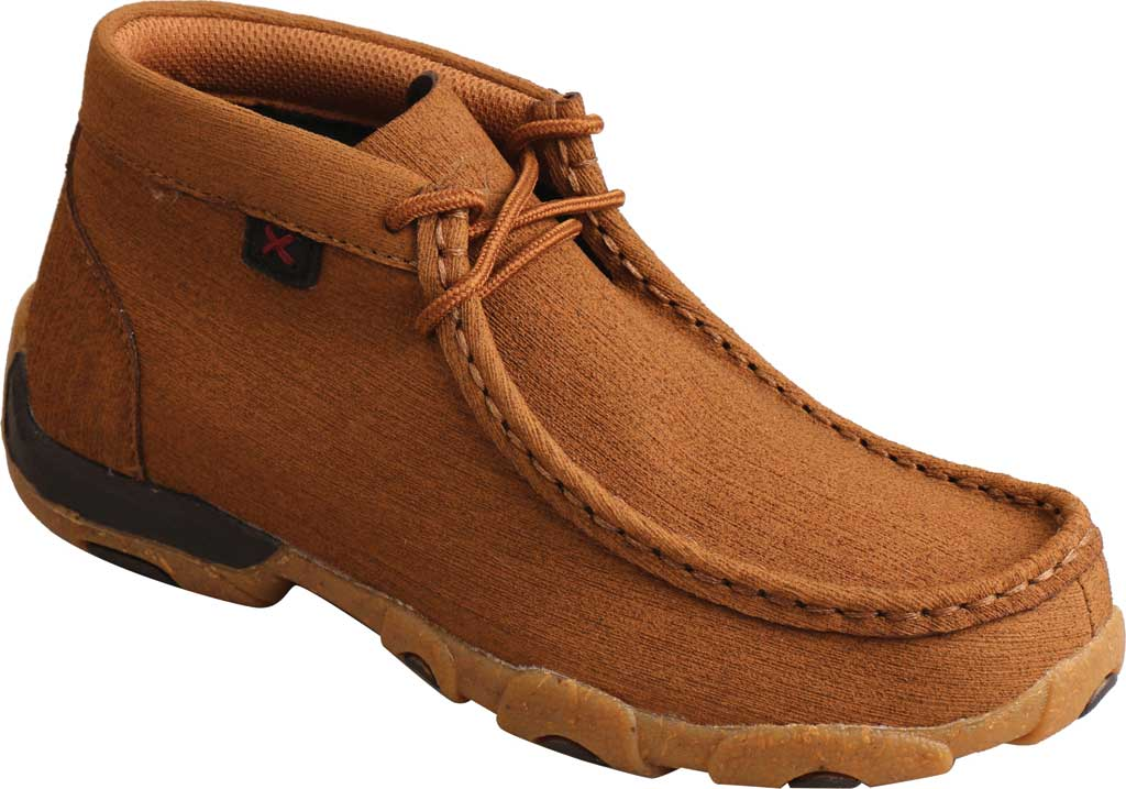 Children's Twisted X YDM0047 Chukka Driving Moc, Clay/Clay Hybrid Performance Leather, large, image 1