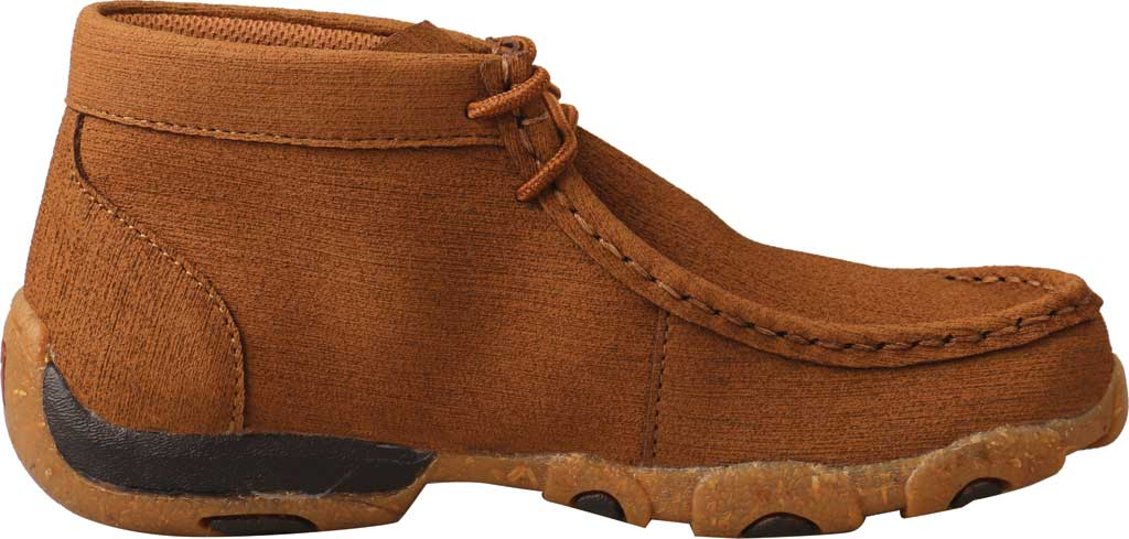Children's Twisted X YDM0047 Chukka Driving Moc, Clay/Clay Hybrid Performance Leather, large, image 2