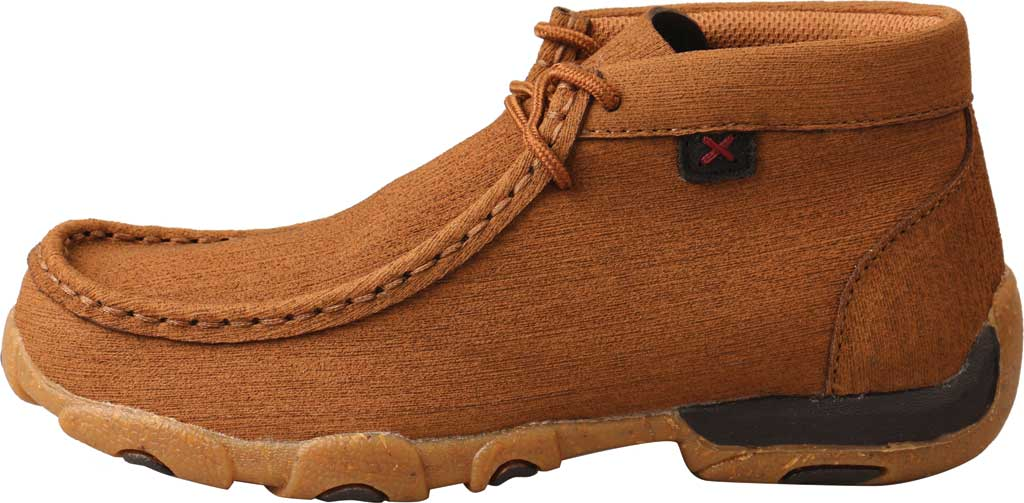 Children's Twisted X YDM0047 Chukka Driving Moc, Clay/Clay Hybrid Performance Leather, large, image 3