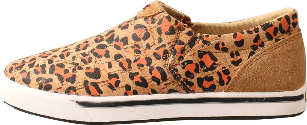 Children's Twisted X YCA0002 Slip-On Kicks Sneaker, Honey/Black/Carrot Eco Cork, large, image 3