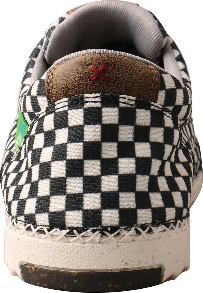 Men's Twisted X MZX0003 Zero-X Moc Toe Sneaker, Black/White Recycled Fabric, large, image 4