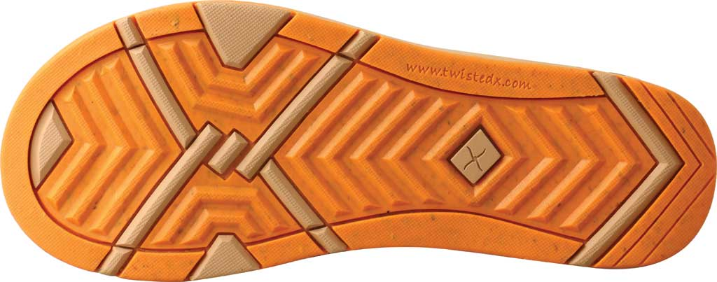 Women's Twisted X WSD0035 Flip Flop, Tan/Orange Leopard Print/Cork, large, image 5