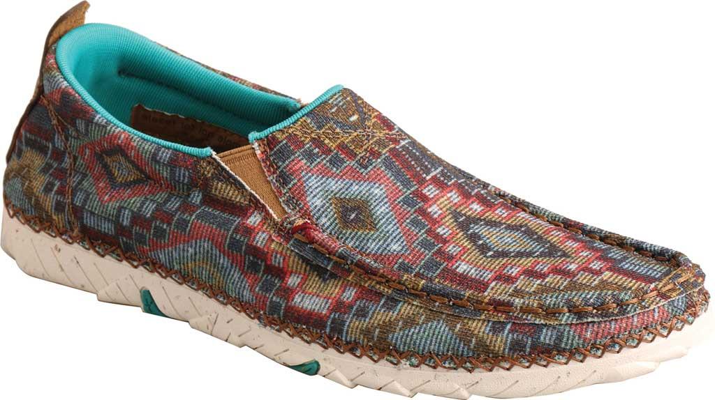 Women's Twisted X WZXS002 Zero-X Moc Toe Loafer, Multi Textile, large, image 1