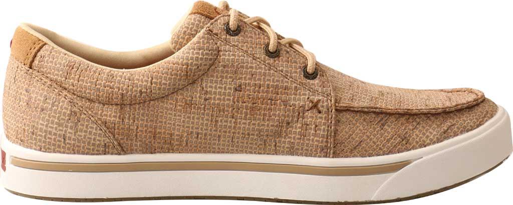 Men's Twisted X MCA0045 Kicks Moc Toe Sneaker, Tan Cork, large, image 2