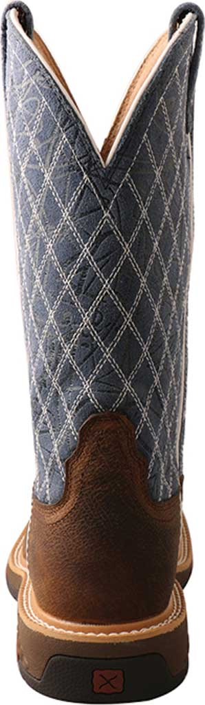 """Women's Twisted X WXBN001 11"""" Western Composite Toe Work Boot, Brown/Blue Full Grain Leather, large, image 4"""