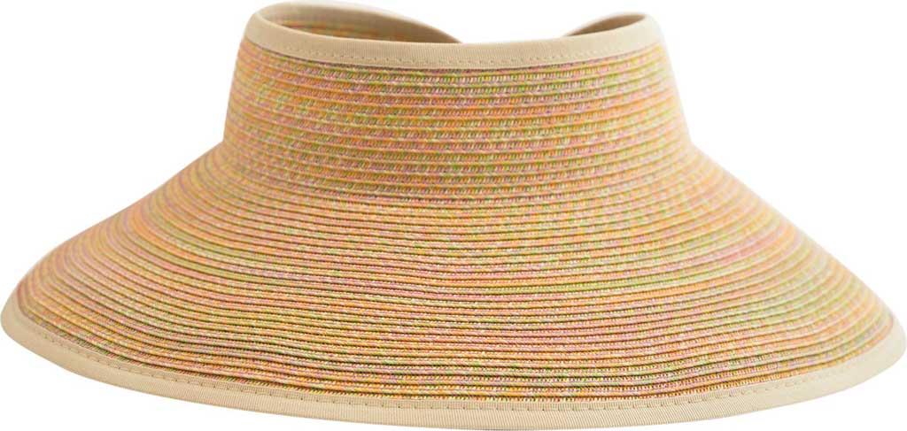 Women's San Diego Hat Company Ultrabraid Large Brim Visor UBV002, , large, image 1