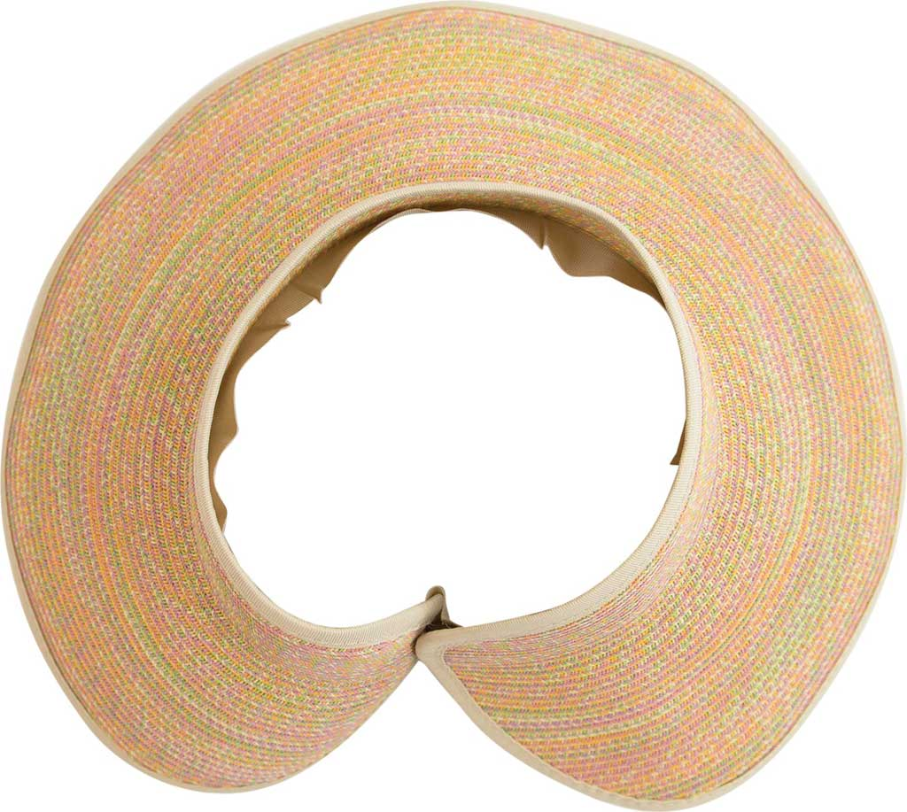 Women's San Diego Hat Company Ultrabraid Large Brim Visor UBV002, , large, image 5