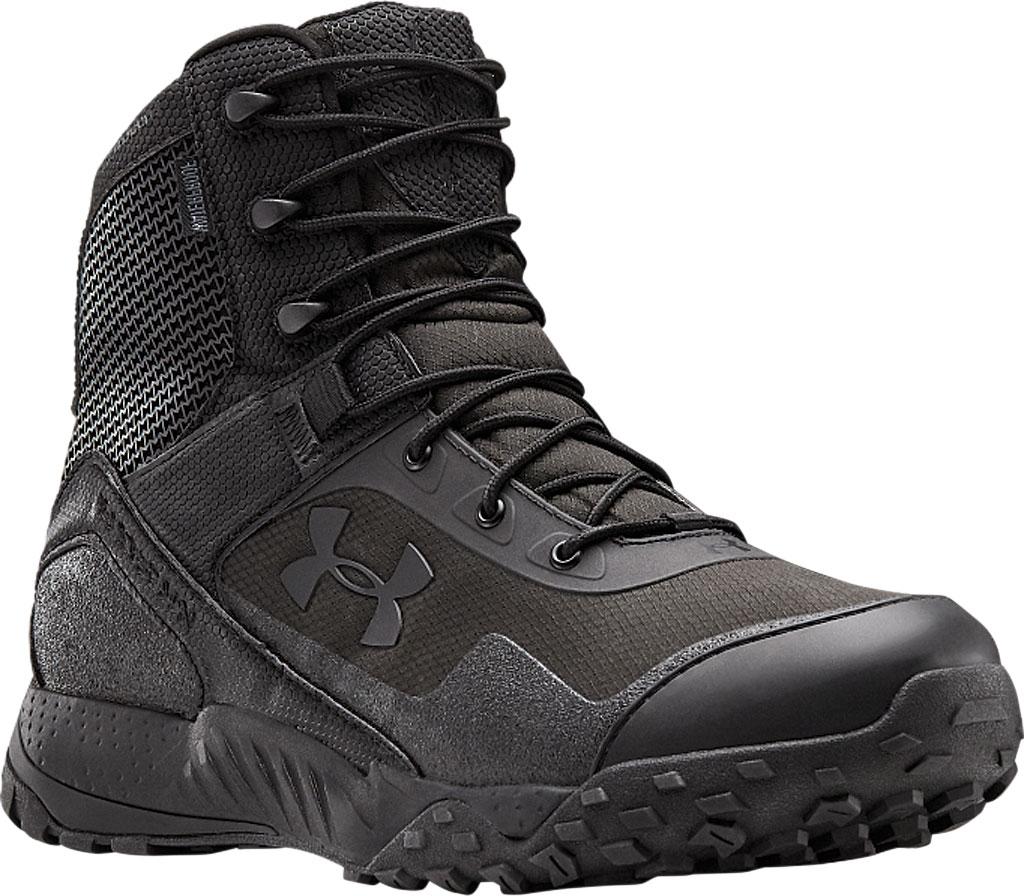Men's Under Armour Valsetz RTS 1.5 Waterproof Boot, Black/Black/Black, large, image 1