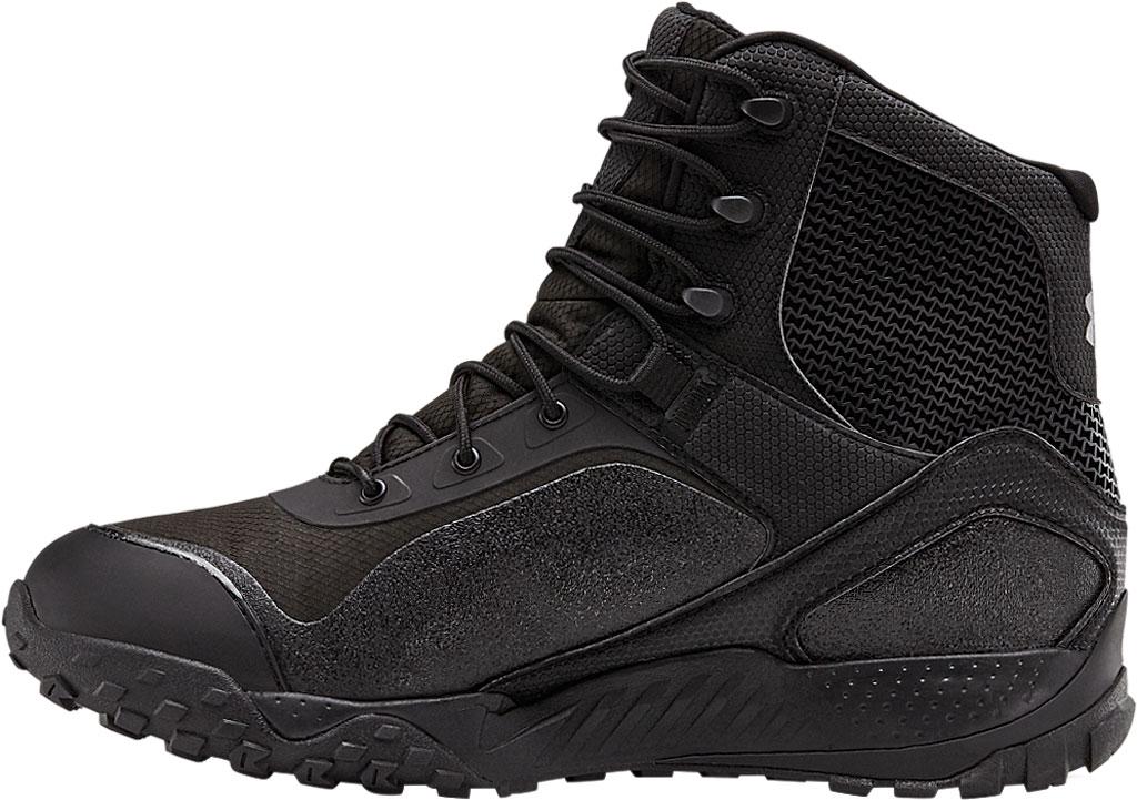 Men's Under Armour Valsetz RTS 1.5 Waterproof Boot, Black/Black/Black, large, image 3