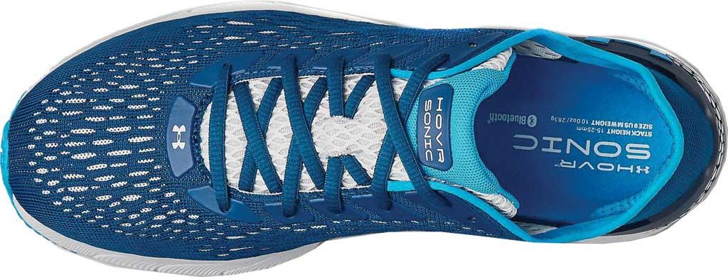 Men's Under Armour HOVR Sonic 3 Running Sneaker, Graphite Blue/White/Graphite Blue, large, image 4