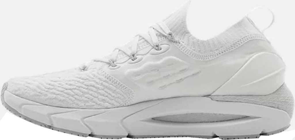 Men's Under Armour Hovr Phantom 2 Running Sneaker, White/White/Halo Grey, large, image 3