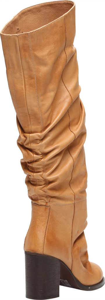 Women's Free People Elle Tall Slouch Boot, Taupe Burnished Leather, large, image 4