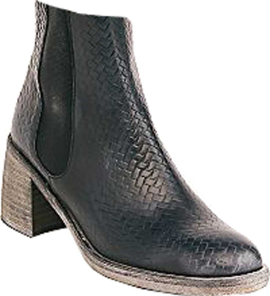 Women's Free People Essential Chelsea Boot, Black Woven Print Leather, large, image 1