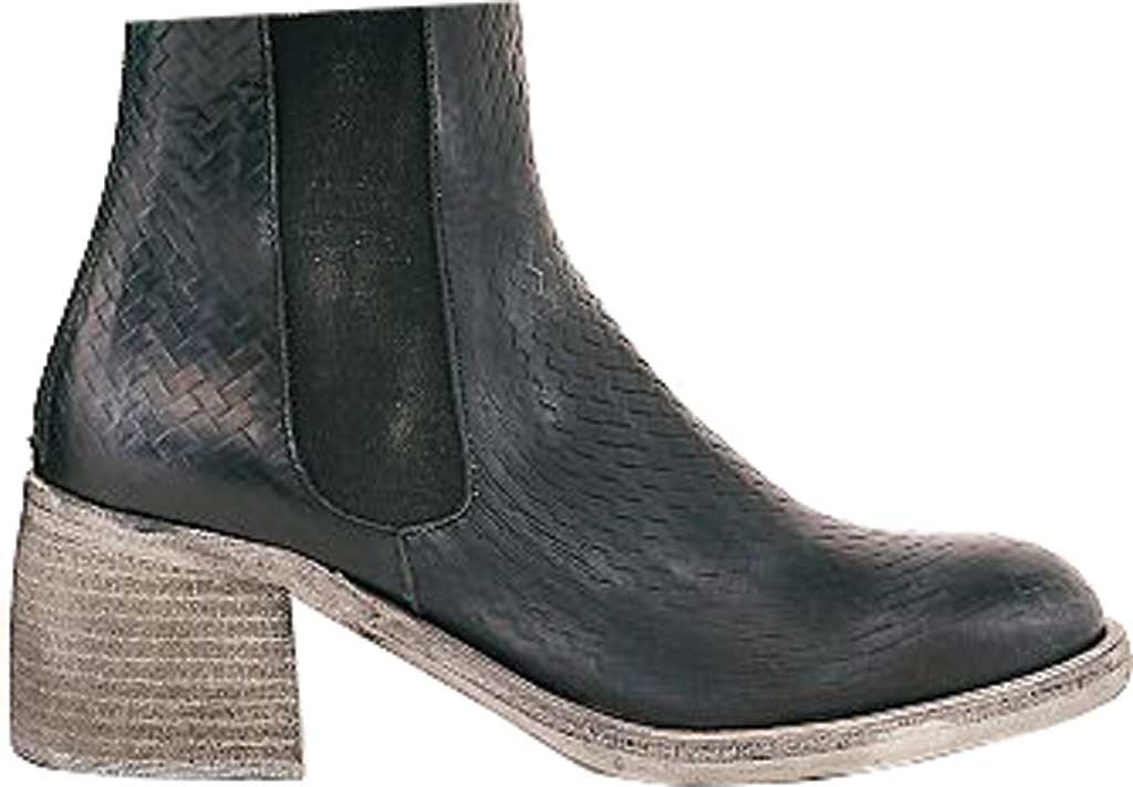 Women's Free People Essential Chelsea Boot, Black Woven Print Leather, large, image 2