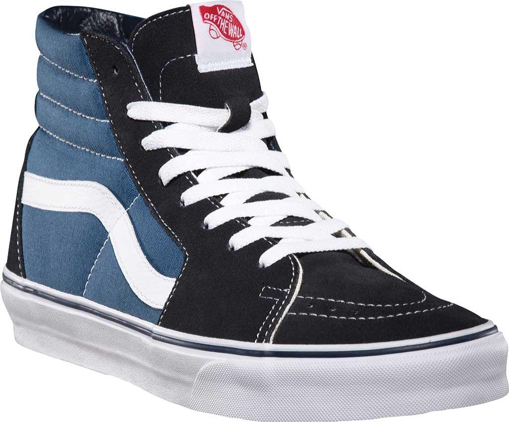 Vans Sk8-Hi Top Sneaker, Navy, large, image 1
