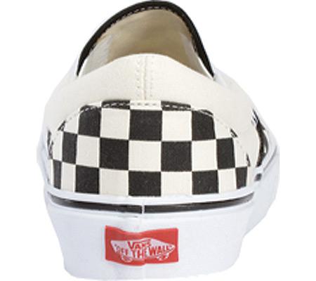Vans Classic Slip-On, Black/White Checkerboard/White, large, image 5