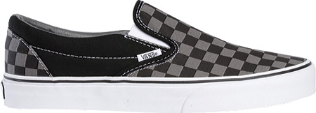 Vans Classic Slip-On, Black/Pewter Checkerboard, large, image 2