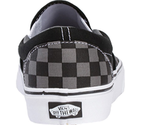 Vans Classic Slip-On, Black/Pewter Checkerboard, large, image 5