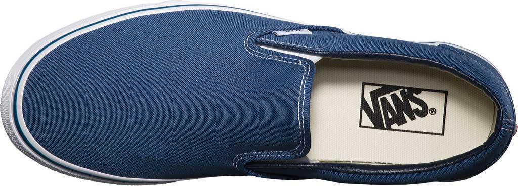 Vans Classic Slip-On, Navy, large, image 6