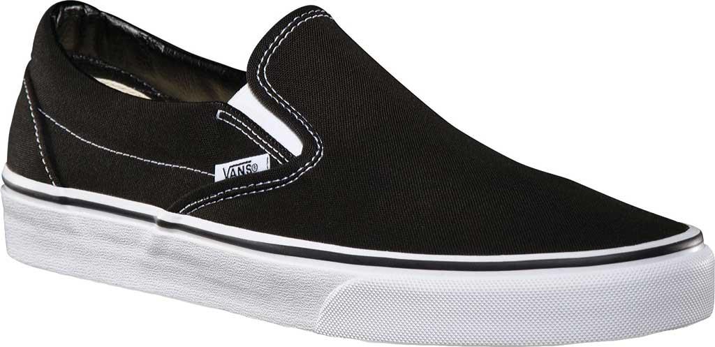 Vans Classic Slip-On, Black, large, image 1