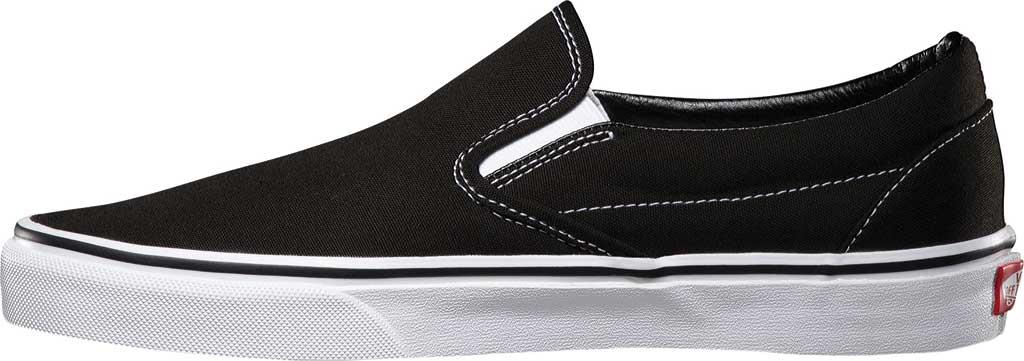 Vans Classic Slip-On, Black, large, image 3
