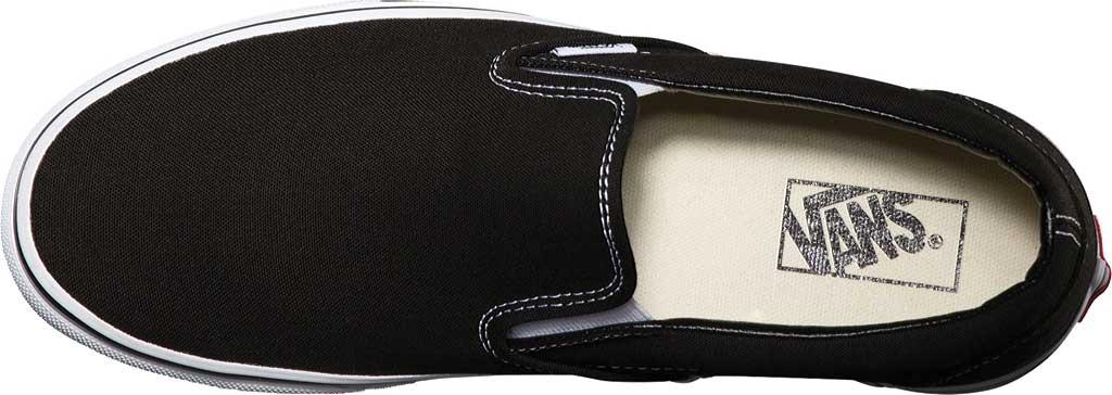 Vans Classic Slip-On, Black, large, image 6