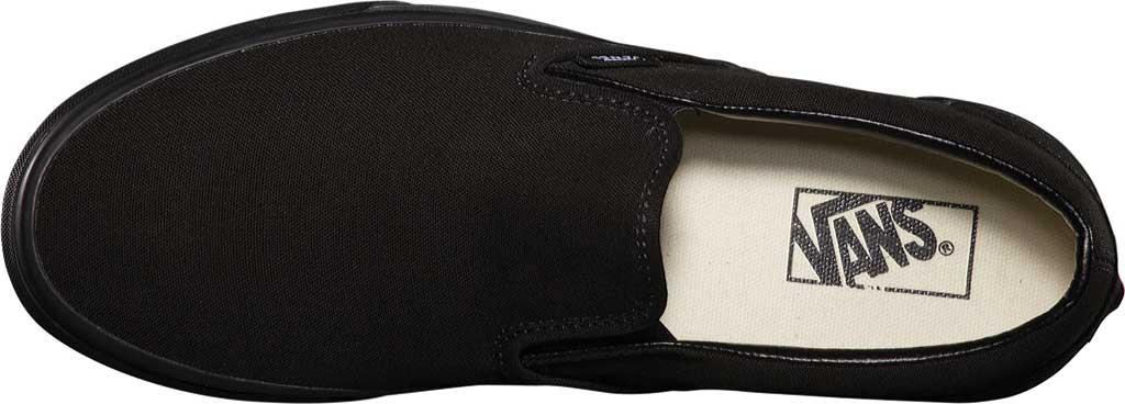 Vans Classic Slip-On, Black/Black, large, image 6