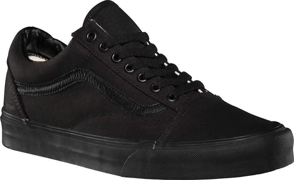 Vans Old Skool Sneaker, Black/Black, large, image 1