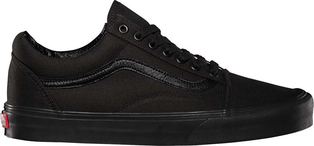 Vans Old Skool Sneaker, Black/Black, large, image 2