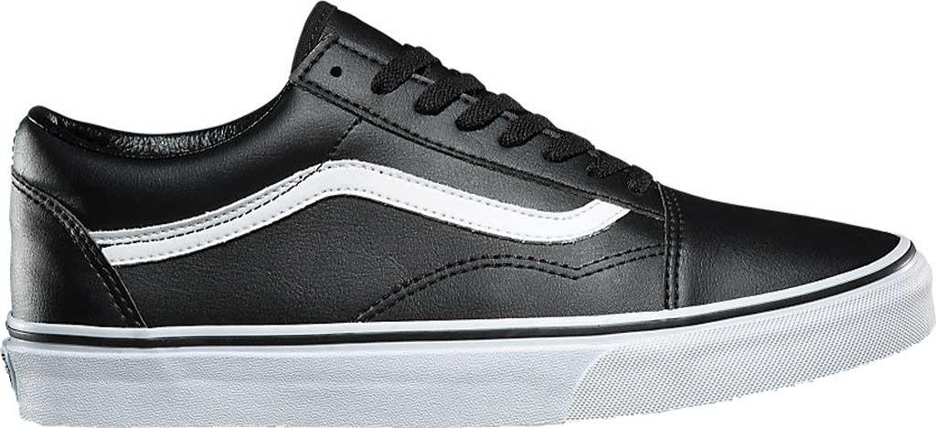 Vans Old Skool Sneaker, Classic Tumble Black Synthetic/True White, large, image 2