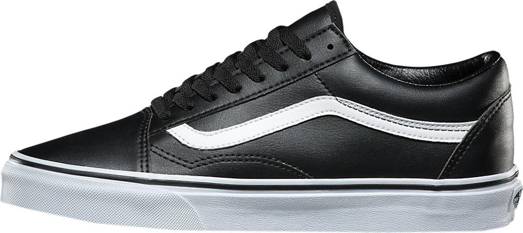 Vans Old Skool Sneaker, Classic Tumble Black Synthetic/True White, large, image 3